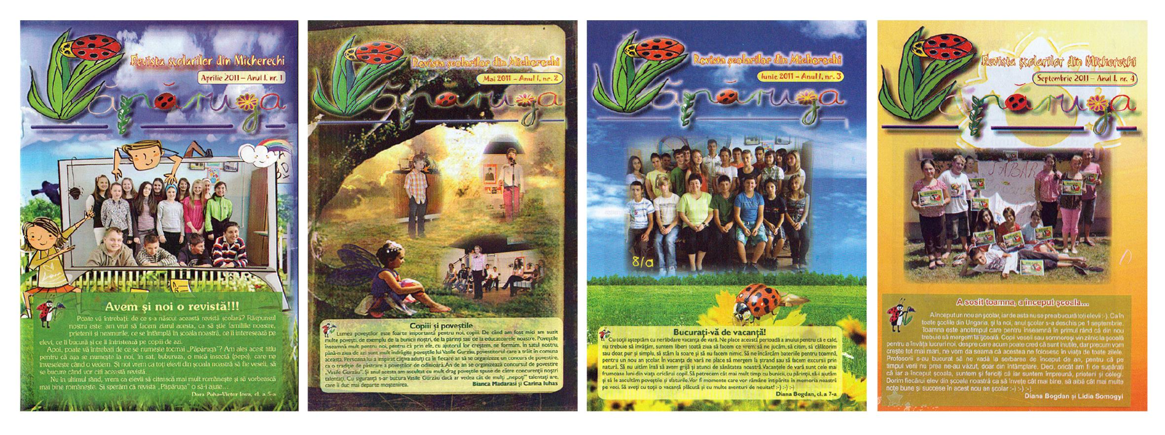 Părăruga. Revista şcolarilor din Micherechi
